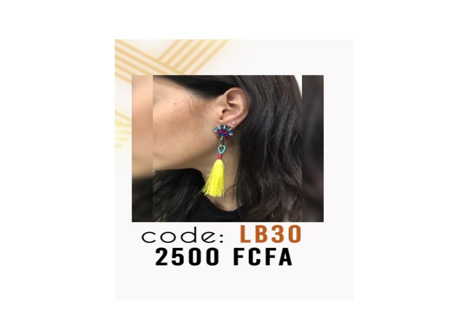 Boucle d'oreille Créole