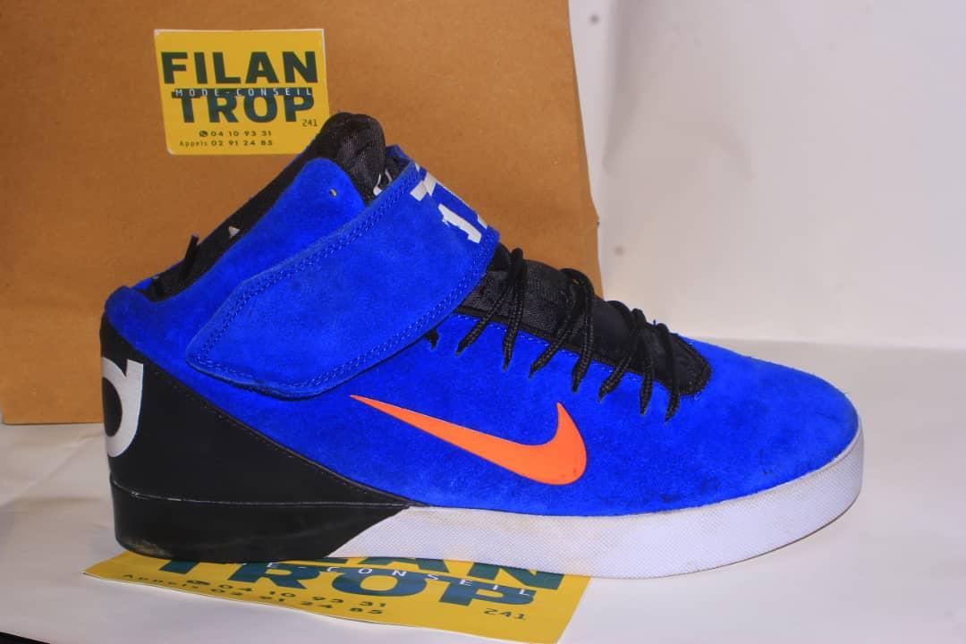 Basket Bleu Nike Homme